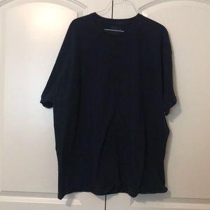 Men's navy 2XL t-shirt